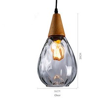 WinSoon Modern Style Glass Shade Lamp Bar Loft Fixtures Without The Bulb All Products