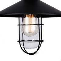 WinSoon Modern Vintage Industrial Black Metal Loft Ceiling Light Shade All Products