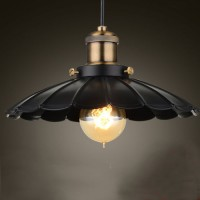 WinSoon Modern Vintage Industrial Rustic Bar Loft Metal Pendant Ceiling Lights Fixtures
