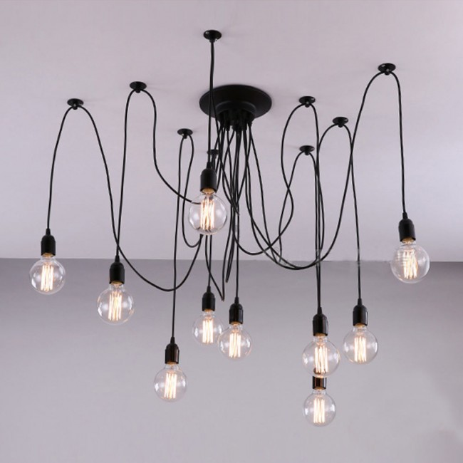 WinSoon Pendant Lamp Lighting Without Bulb For Kitchen