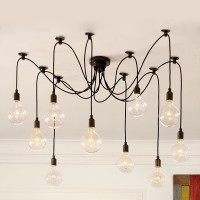 WinSoon Pendant Lamp Lighting Without Bulb for kitchen island Living Room Lights Fixture