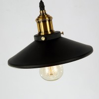 Winsoon Pulley Droplight Antique Retro Iron Pendant Ceiling Adjustable(1 Head) All Products