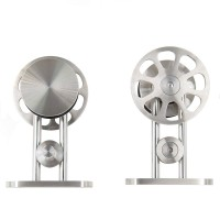 Roller For Sliding Barn Wood Door Hardware System Flower Spoke Hanger Stainless Steel 304