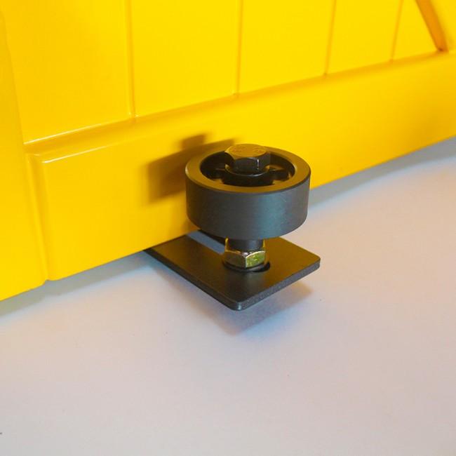 Winsoon Sliding Barn Door Hardware Wall Guide Door Bottom Floor