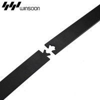 WinSoon Sliding Barn Door Hardware Wood Door Closet Cabinet Track Kit Mini Bent
