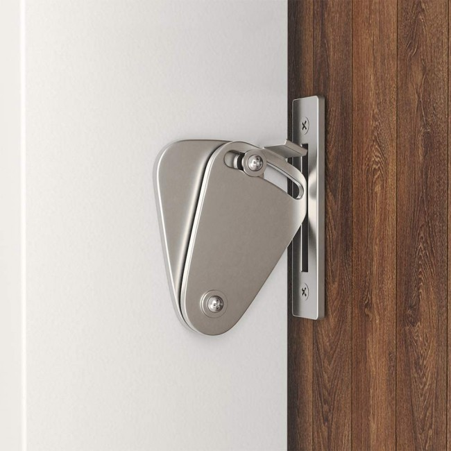 Winsoon Small Stainless Steel 304 Latch Lock Privacy Lock For Sliding Barn Door Gate Silver All Products
