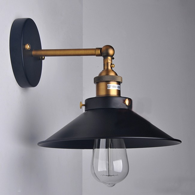 WinSoon Socket Sconce Wall Light Lamp Loft Modern Vintage