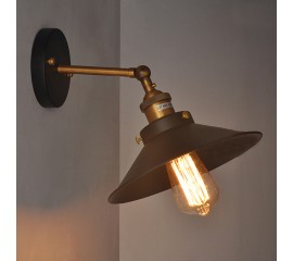 WinSoon Socket Sconce Wall Light Lamp Loft Modern Vintage Retro Industrial Style Holder