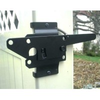 Winsoon Stainless Steel Vinyl Fence Gate Latch Black White Or Wood Fence Gate
