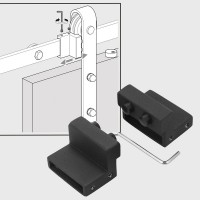 WinSoon Steel Stopper Limit device for Sliding Barn Door Hardware Track Kit Accessaries All Products