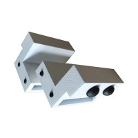 WinSoon Steel Stopper Limit device for Sliding Barn Door Hardware (White)