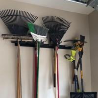 Winsoon Tools Rack Ski Snowboard Wall Mount Rack Hook Space Saver Garden Holders Storage