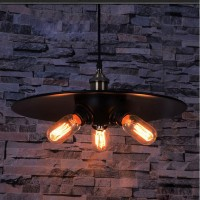 WinSoon Vintage Chandelier Hanging Metal 3 Heads Ceiling Pendant Lights All Products