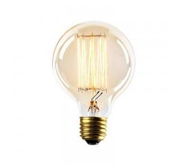 WinSoon Vintage Edison G80 Straight Filament Antique Bulbs Light , 40W (E27)