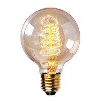 WinSoon Vintage Edison G80 Wire Filament Antique Bulbs Light , 40W (E27) All Products