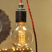 WinSoon Vintage Edison G80 Wire Filament Antique Bulbs Light , 40W (E27)