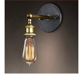 WinSoon Vintage Industrial Bar Adjustable Wall Light Rustic Sconce Lamp Simplify