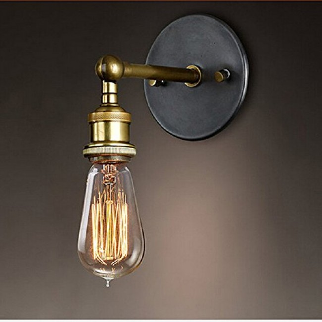 Winsoon Vintage Bar Adjule Wall Light Rustic Sconce Lamp Simplify All Products