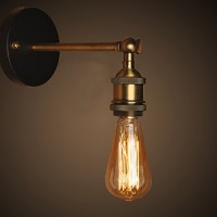 WinSoon Vintage Industrial Bar Adjustable Wall Light Rustic Sconce Lamp Simplify All Products