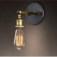 WinSoon Vintage Industrial Bar Adjustable Wall Light Rustic Sconce Lamp Simplify