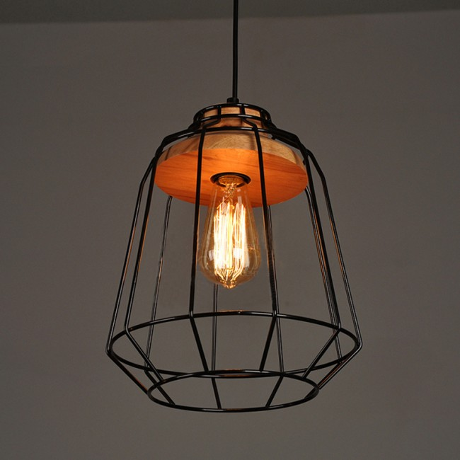 Winsoon vintage industrial diy metal ceiling lamp light for Diy pendant light