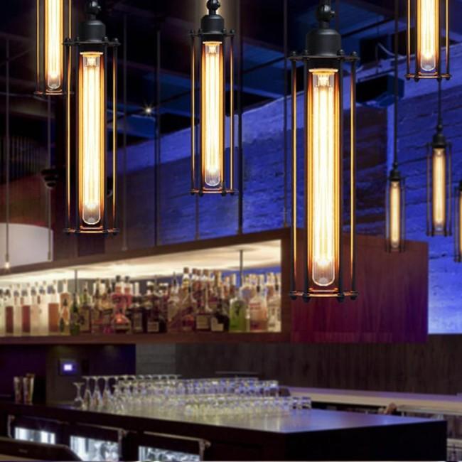 WinSoon Vintage Industrial Modern Loft Bar Lamp Ceiling
