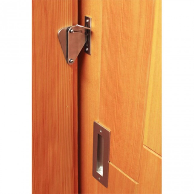 WinSoon Wood Door Gate Lock Pull Door Solid Stainless Steel Sliding Barn Door  Hardware